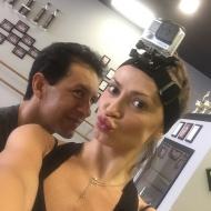 Camera on head